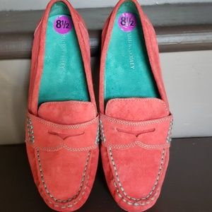Cynthia Rowley leather shoes.